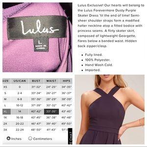 Lulu's Dresses - Lulu's Forevermore Dusty Purple Skater Dress